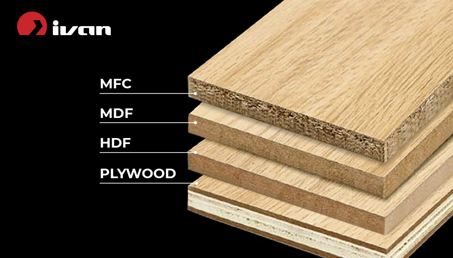 Differences between wooden boards: MFC, MDF, HDF and Plywood